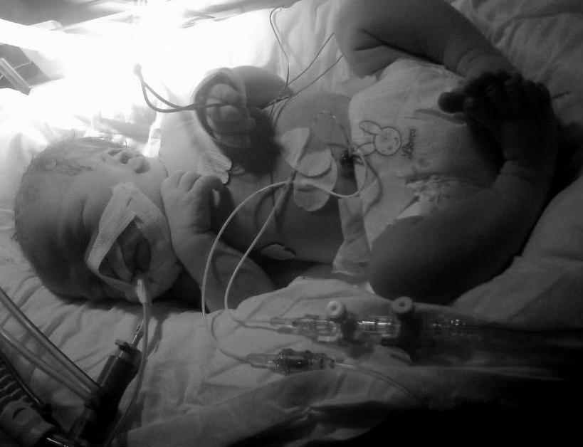 Kasper precis nyfödd