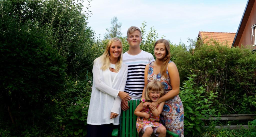 Sigrid, Ragna, Gunnar och Astrid