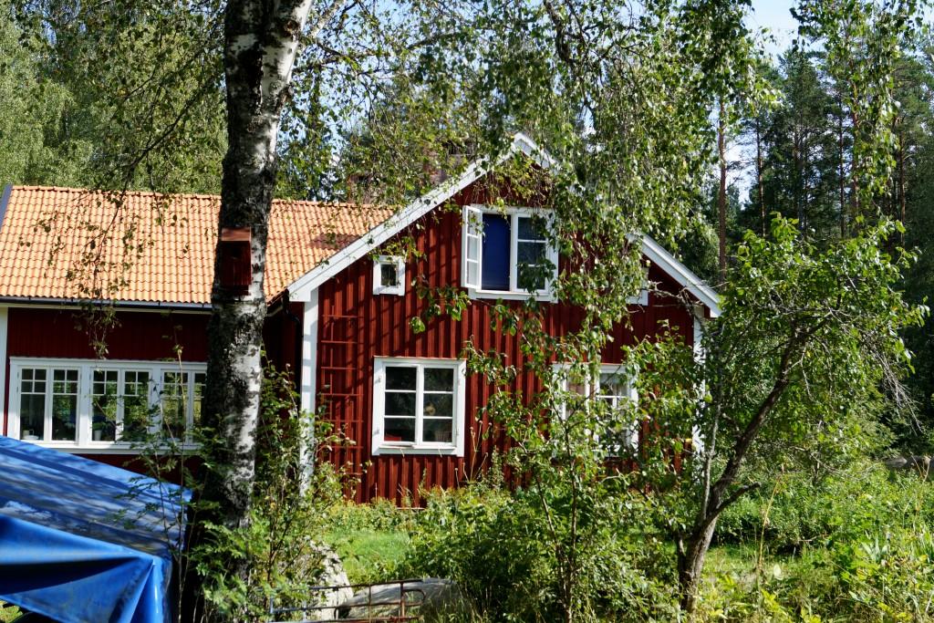 Hemmahuset från sidan