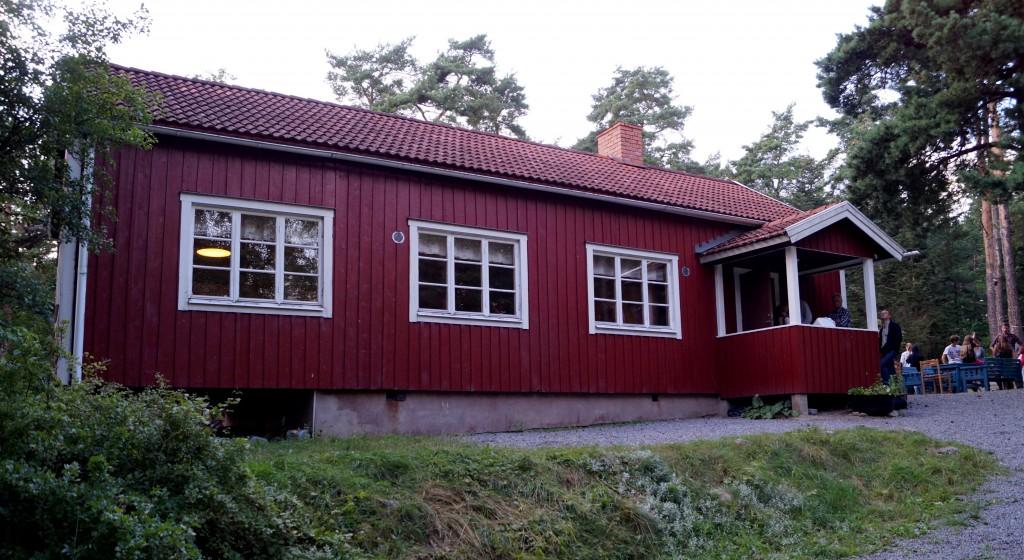 Ledarnas hus och matsalen