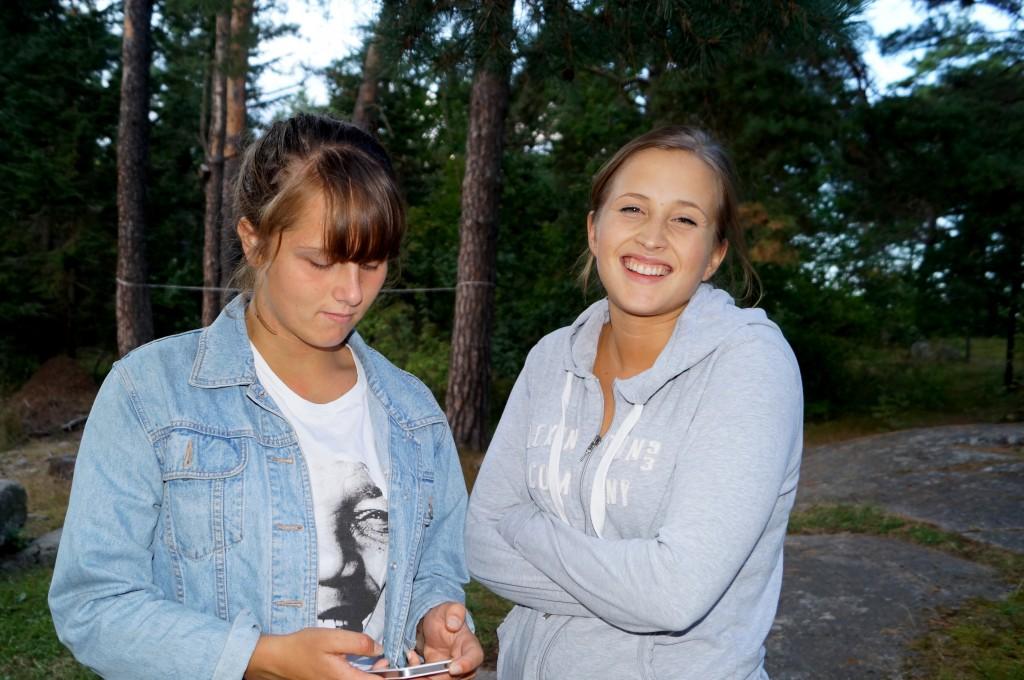 Ledare Alva och syster Ragna