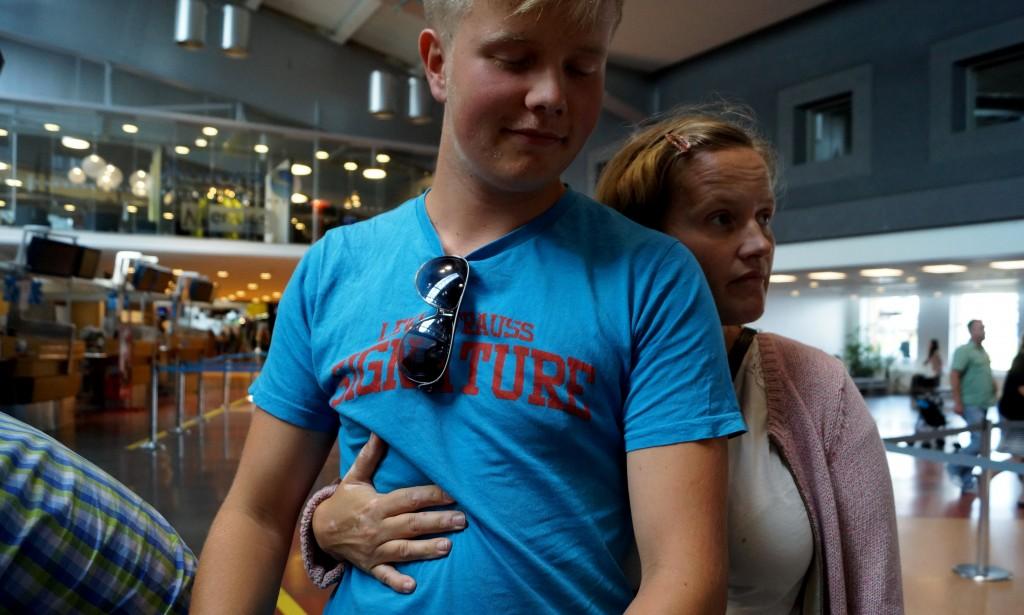 Mamma vill inte släppa Gunnar